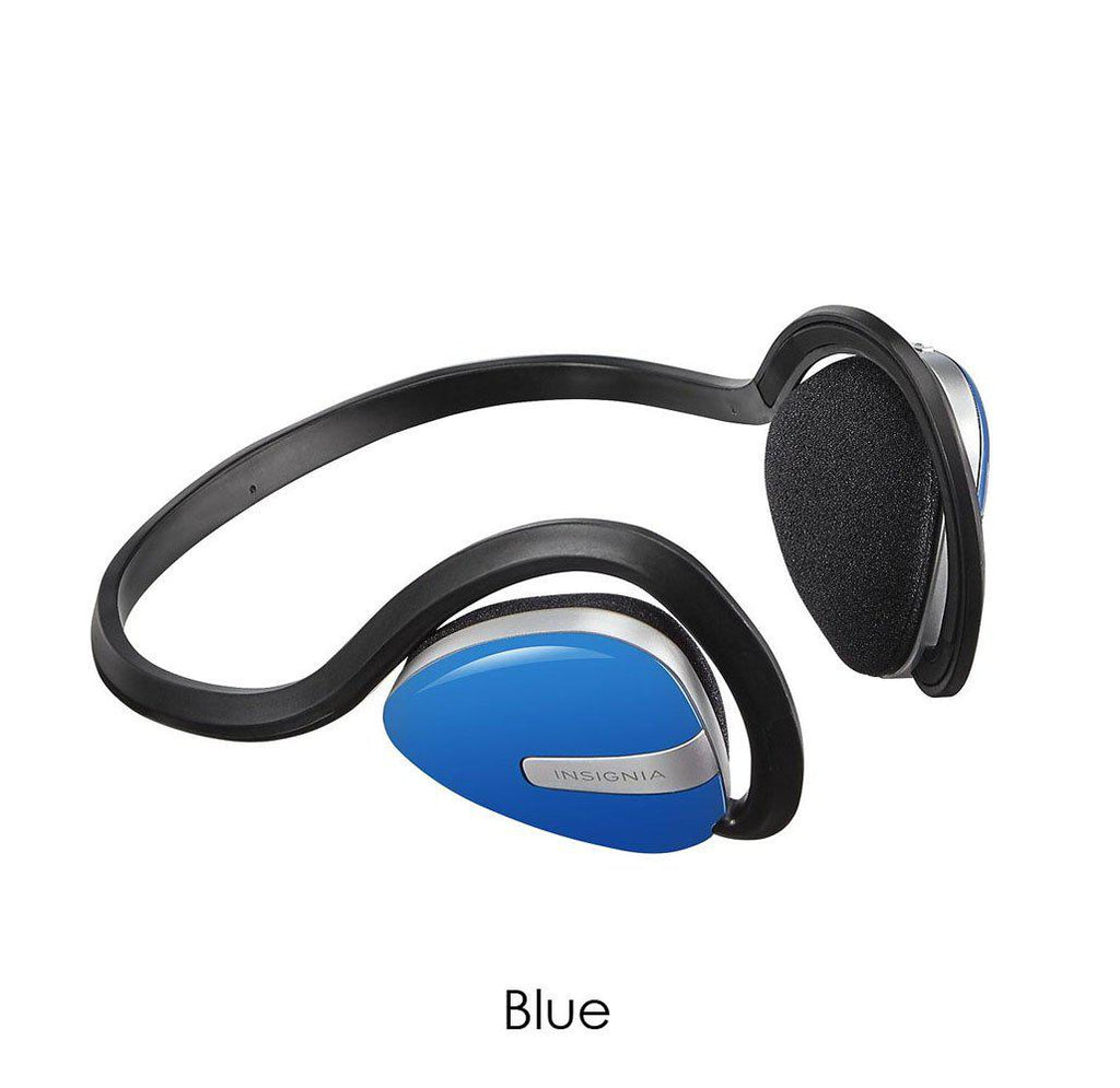 Insignia Wireless On-Ear Bluetooth Sport Headphones-Blue-Daily Steals
