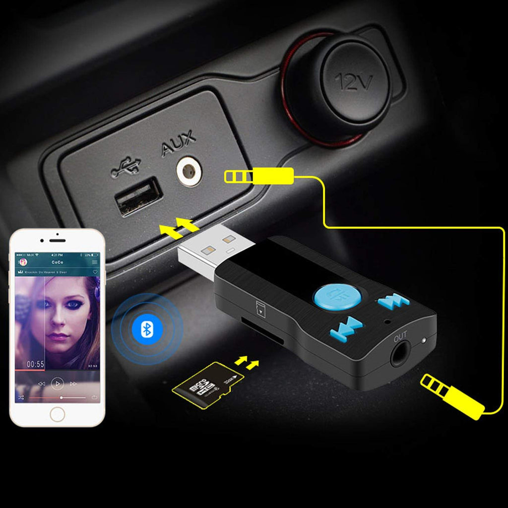 update alt-text with template Daily Steals-iSunnao USB Bluetooth Receiver Adapter-Car Accessories-