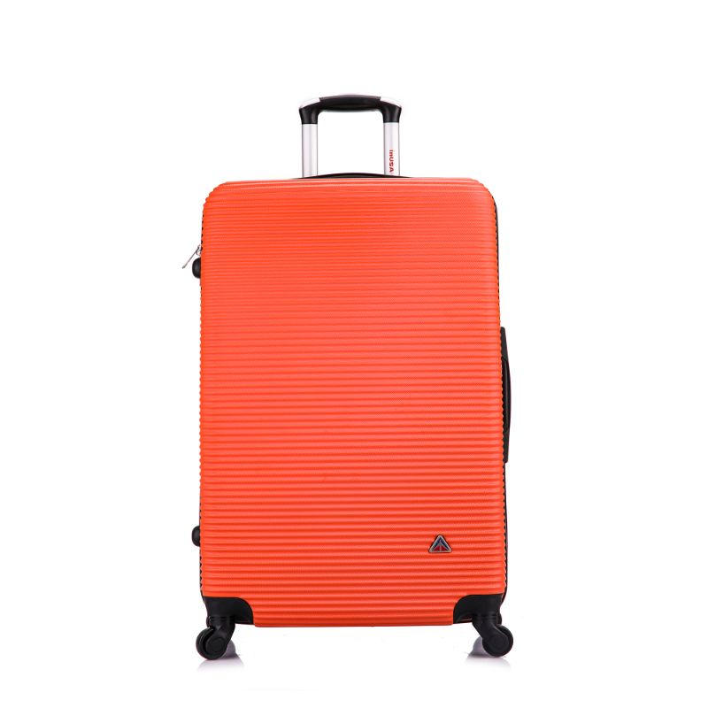 InUSA Royal Hard-Sided Spinner Luggage Cases and Sets-Orange-28''-Daily Steals