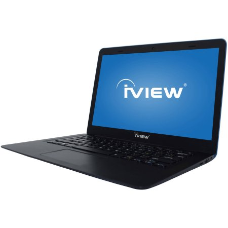 "iView 13.3"" Laptop PC with Intel Atom Cherry Trail Z8300 Processor, 2GB Memory, 32GB Flash Drive and Windows 10-Blue-Daily Steals"
