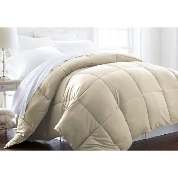 Home Collection All-Season Premium Down Alternative Comforter-Ivory-Twin-Daily Steals
