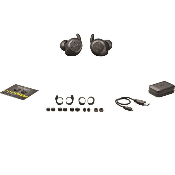 Jabra Elite Sport True Wireless Waterproof Fitness & Running Earbuds-Daily Steals