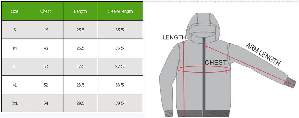 Men's Lightweight Full-Zip Hooded Windbreaker Jacket-Daily Steals