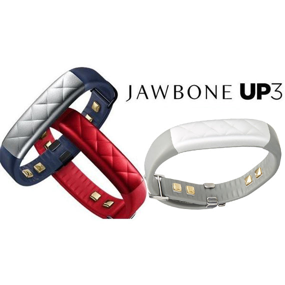 Jawbone UP3 Wireless Sleep and Fitness Tracker and Heart Rate Monitor-Daily Steals