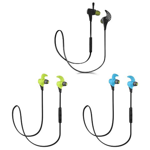 Daily Steals-Jaybird X2 Sport Wireless Bluetooth In-Ear Earbud Headphones w/ Inline Controls-Headphones-Black-