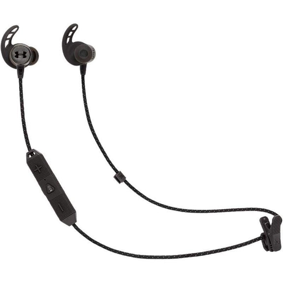 JBL Under Armour REACT - Sport Wireless Bluetooth In-Ear Headphones-Black-Daily Steals