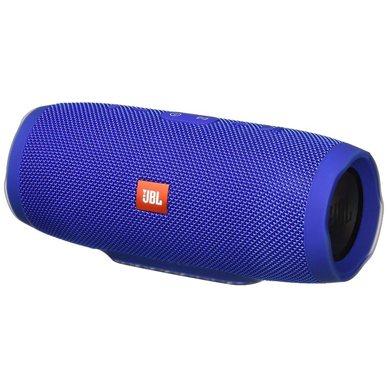 JBL Charge 3 Waterproof Portable Bluetooth Speaker-Blue-Daily Steals