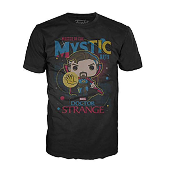 Funko Pop Tees - Various Styles-Men's Strange - Black-S-Daily Steals