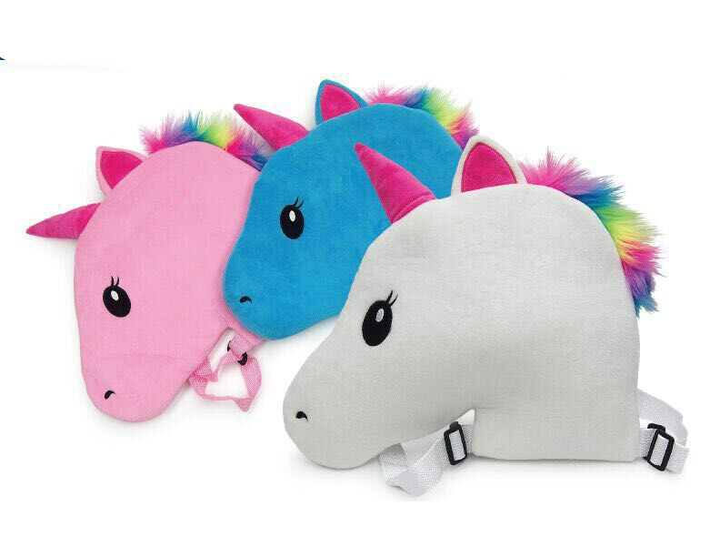Girls Unicorn Backpack-Blue-Daily Steals