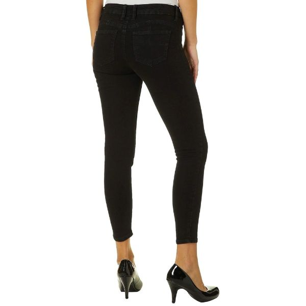 Women's Celebrity Pink Little Black Pant Mid-Rise Jeggings Fit Skinny Pants-Daily Steals