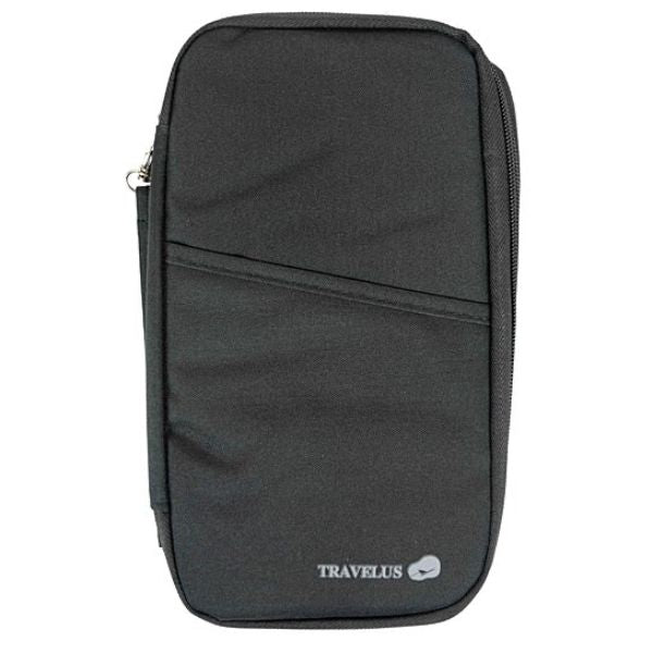 Passport Wallet Unisex Travel Organizer-Black-Daily Steals