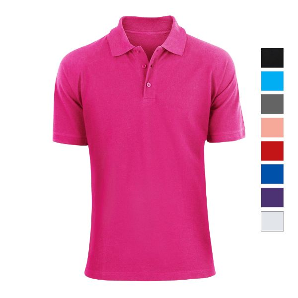 Men's Fashion Classic Fit Cotton Polo Shirt - Multiple Colors-Daily Steals