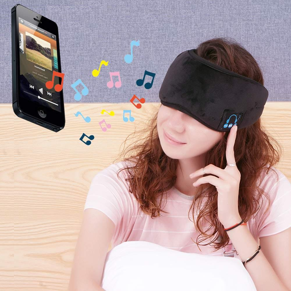 2N1 Wireless Music Eye Mask-Daily Steals