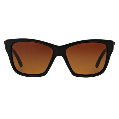 88a4efe33040 Daily Steals-Oakley OO9298-01 Women's Hold On Matte Black Full Rim Gradient  Brown