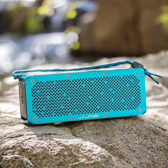 JLab Audio Crasher XL Splashproof Portable Bluetooth Speaker, 30 WATTS-
