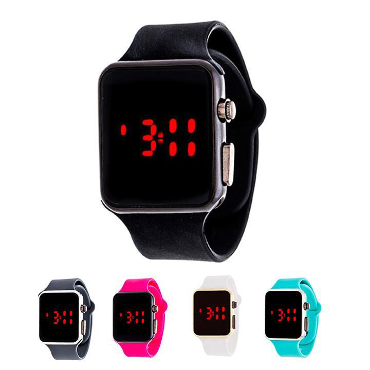 Men's Sport Digital with Rubber Strap Watch-Daily Steals