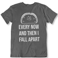 Taco Eclipse of The Heart, de temps en temps je m'effondre T-Shirt-Charcoal-2XL-Daily Steals