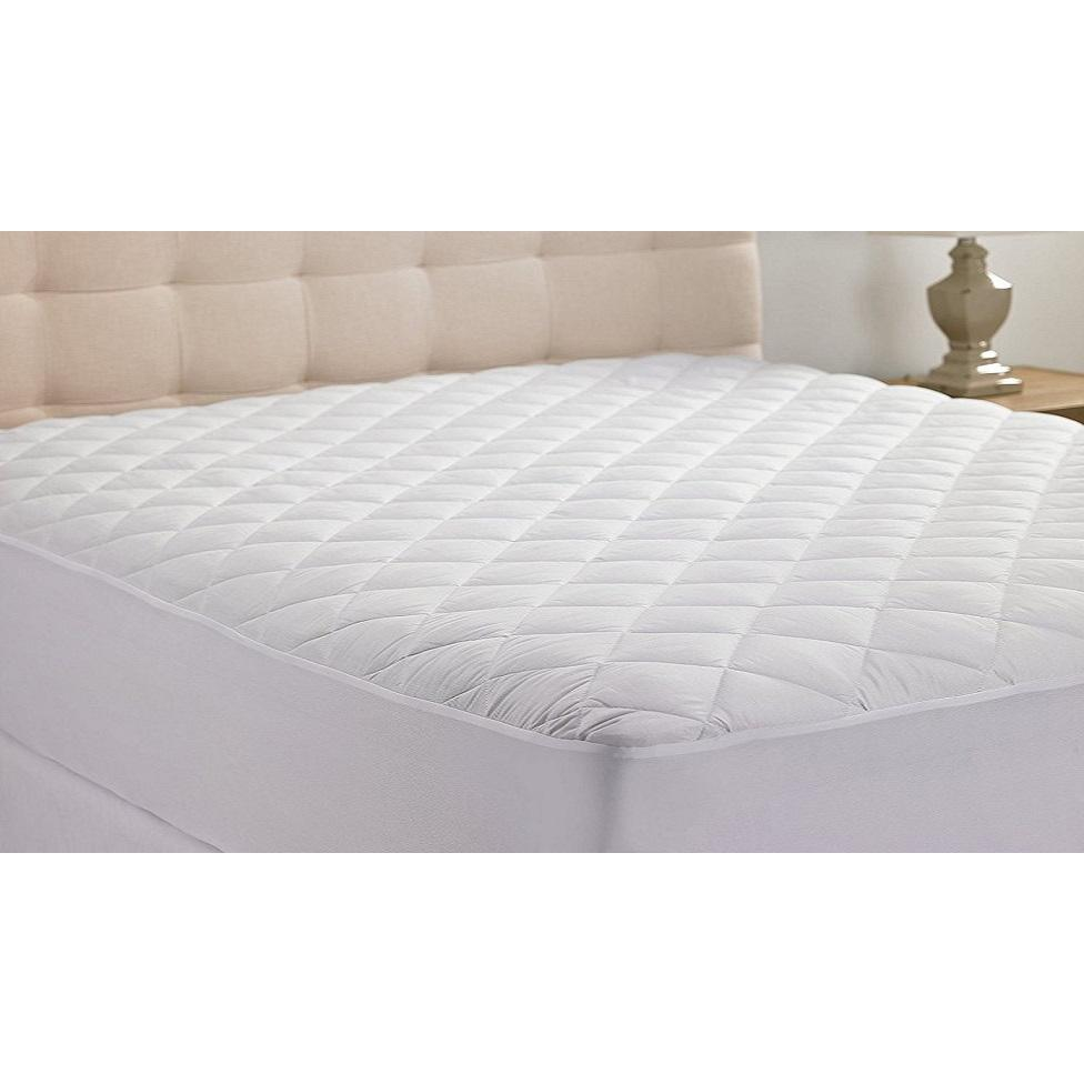 Hypoallergenic Fiber-Fill Mattress Topper Pad-Full-Daily Steals