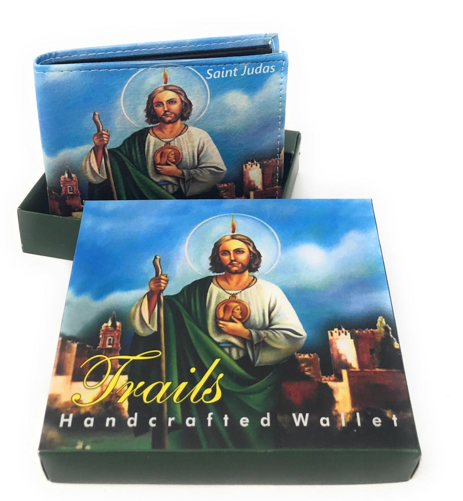 Bifold Wallets With Printed Designs - Comes in Gift Box-SAINT JUDAS-Daily Steals