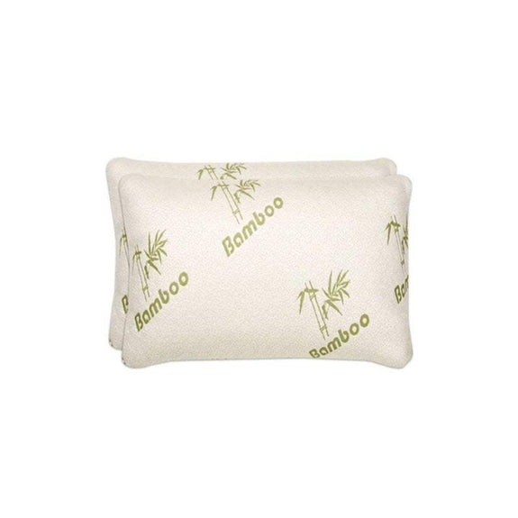 Jumbo Bamboo Pillows - 2 Pack-