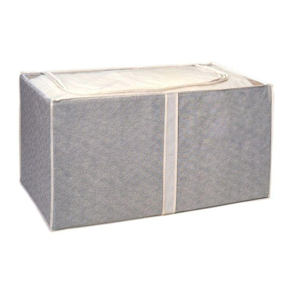 Jumbo Foldable Storage Bins-Beige-Foldable-1 Pack-Daily Steals