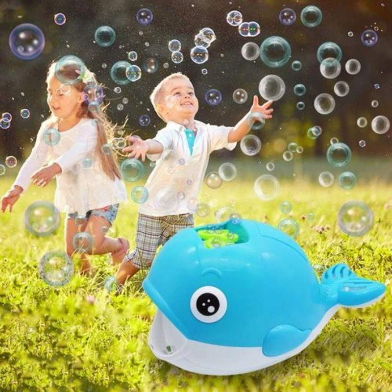 Jumbo Whale Bubble Blower Machine and Solution-