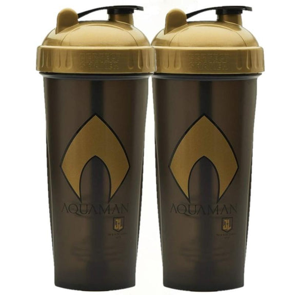 Justice League DC Aquaman Protein Shaker Bottle 28oz - 2 Pack-Daily Steals
