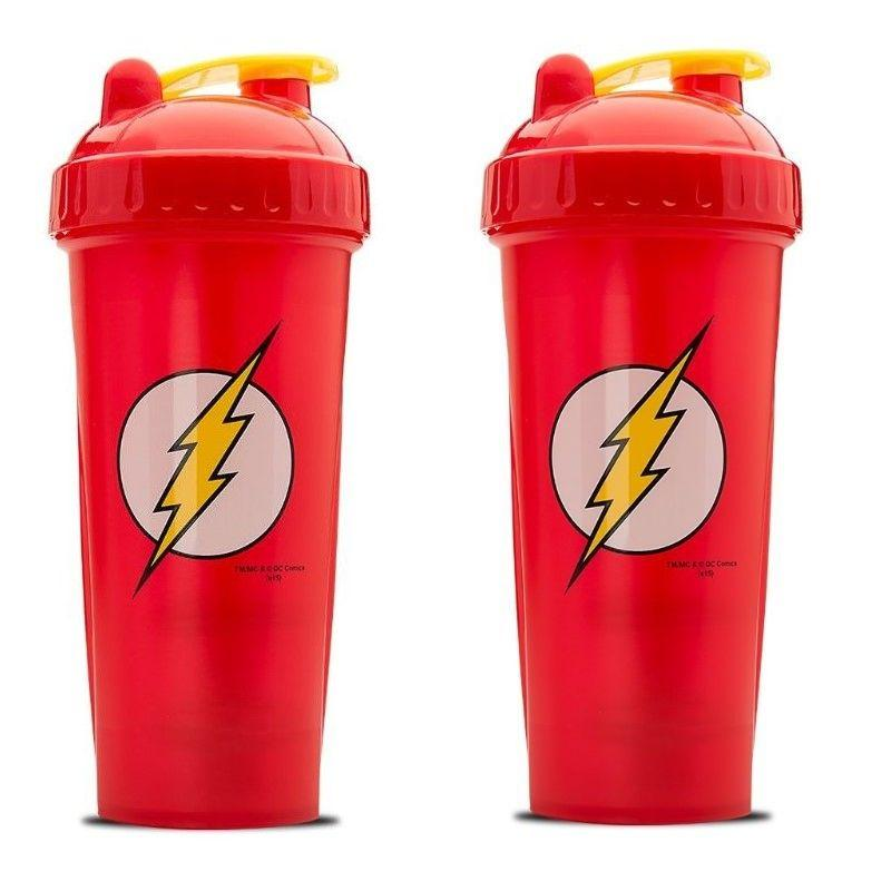 Justice League DC The Flash Protein Shaker Bottle 28oz - 2 Pack-Daily Steals