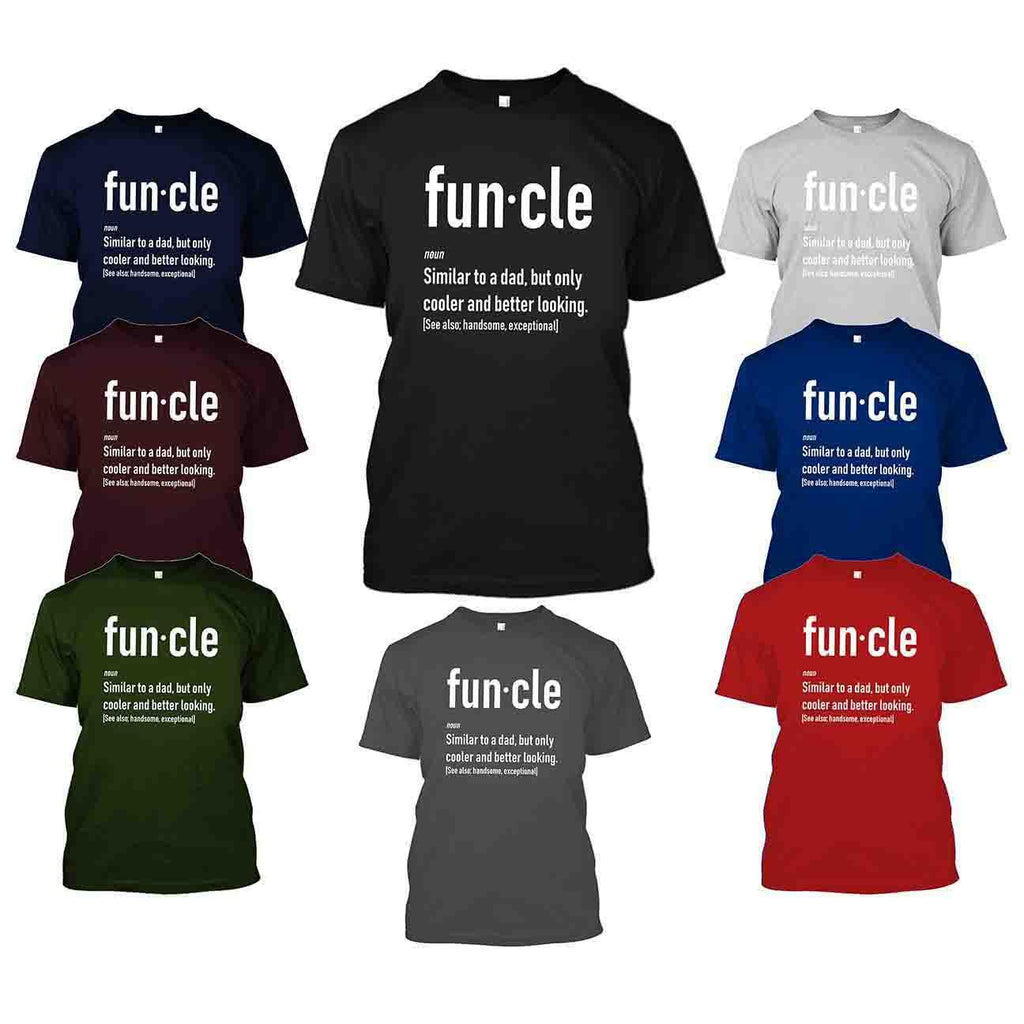 Funcle Fun Uncle T-Shirt-Daily Steals