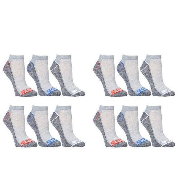 K-Swiss Men's Super Soft Athletic Ankle Socks - 24-Pairs-Style 2-Daily Steals