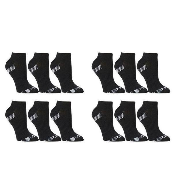 K-Swiss Men's Super Soft Athletic Ankle Socks - 24-Pairs-Style 3-Daily Steals