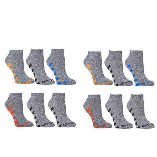 K-Swiss Men's Super Soft Athletic Ankle Socks - 24-Pairs-Style 5-Daily Steals