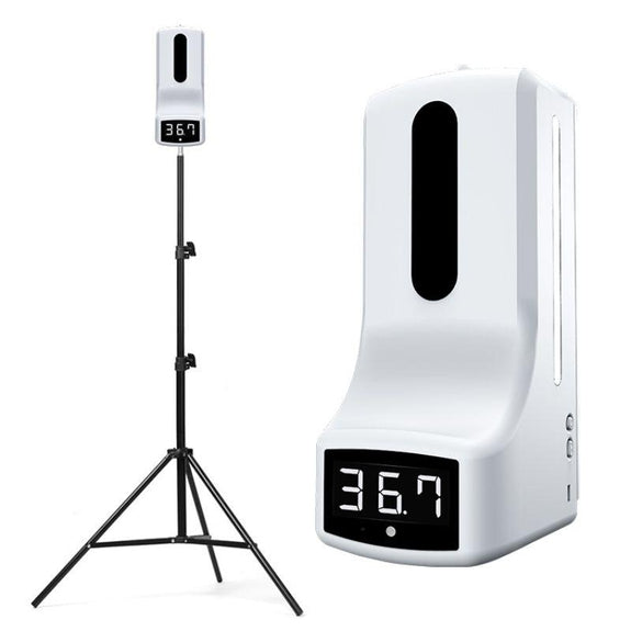 K9 Infrared Digital Forehead Thermometer with Disinfection Machine & Stand-Daily Steals