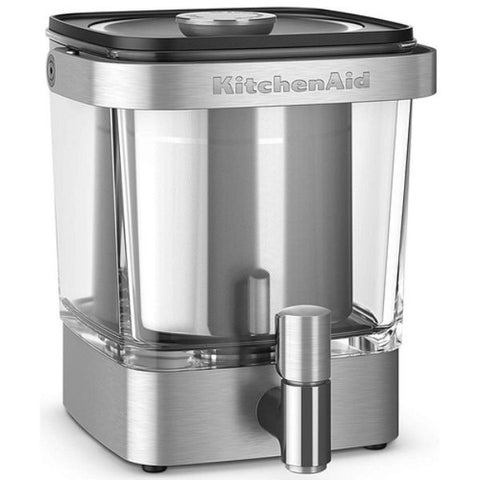 KitchenAid Cold Brew Coffee Maker 38 Ounce Brushed Stainless Steel