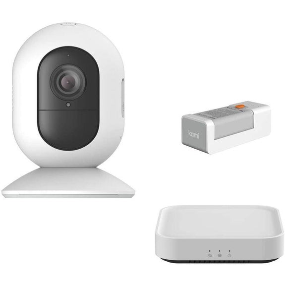 Kami 1080P Wire-Free Home Camera Kit-