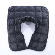 Kathy Ireland Weighted Neck and Shoulder Wrap-Charcoal Grey-Daily Steals