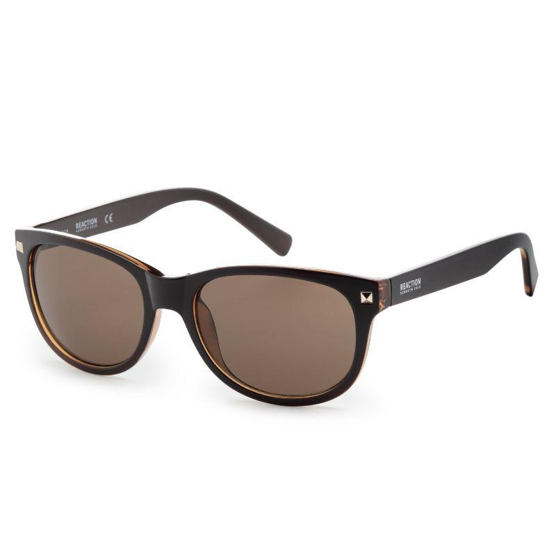Kenneth Cole KC1287-5648E Men's Shiny Brown Sunglasses-Daily Steals