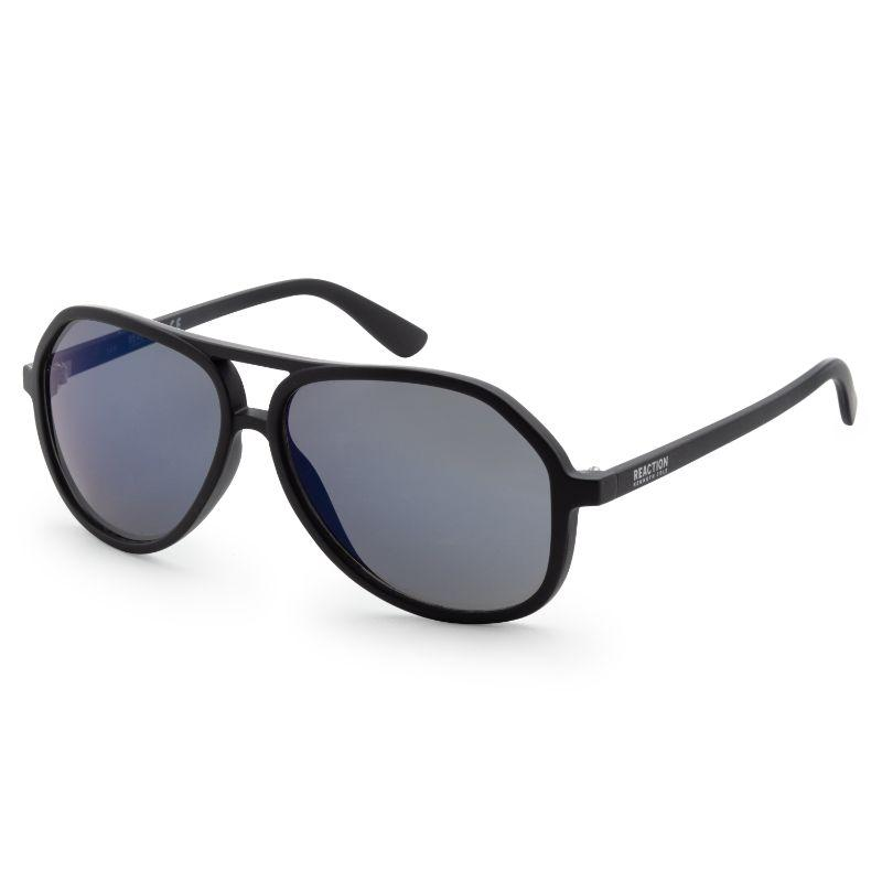 Kenneth Cole KC1316-5902X Men's Matte Black Aviator Sunglasses-Daily Steals