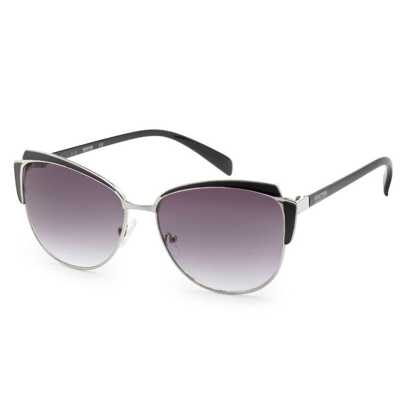 Kenneth Cole KC1352-5905B Women's Black Metal Sunglasses-Daily Steals