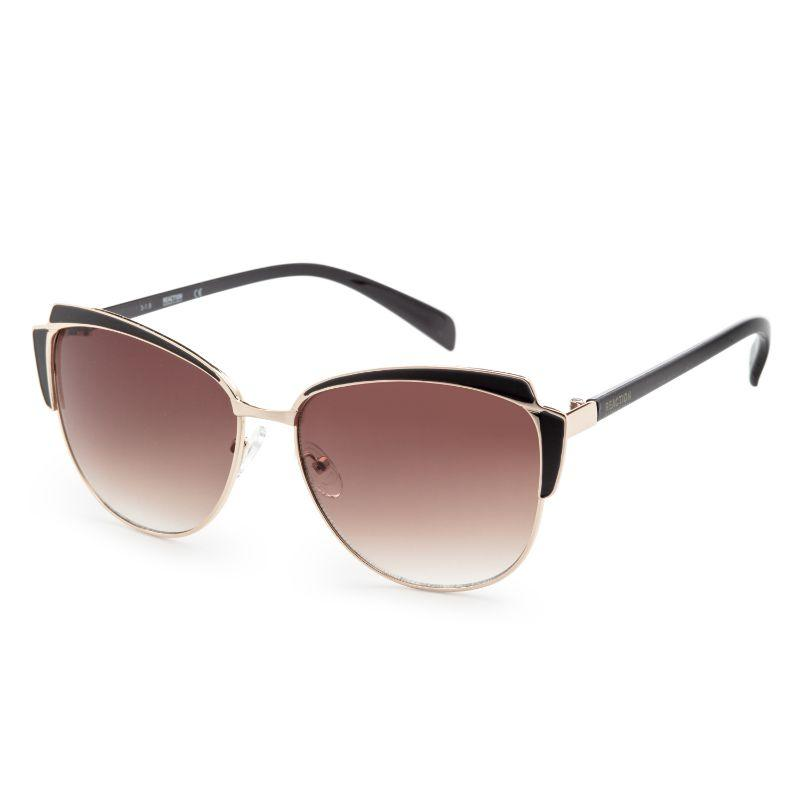 Kenneth Cole KC1352-5952F Women's Havana Metal Sunglasses-Daily Steals