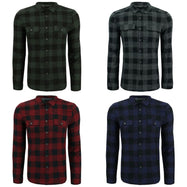 Kenneth Cole New York Men's Buffalo Long Sleeve Flannel Shirt-Daily Steals