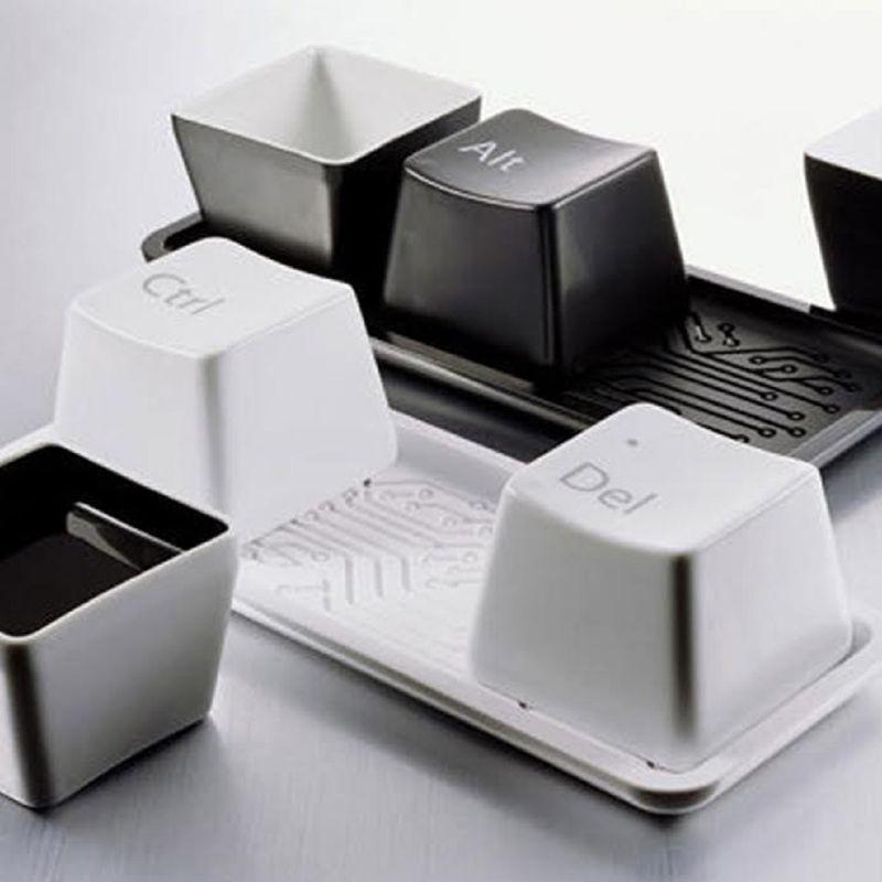 Keyboard Ctrl Alt Del Entertaining Cup Set-Daily Steals