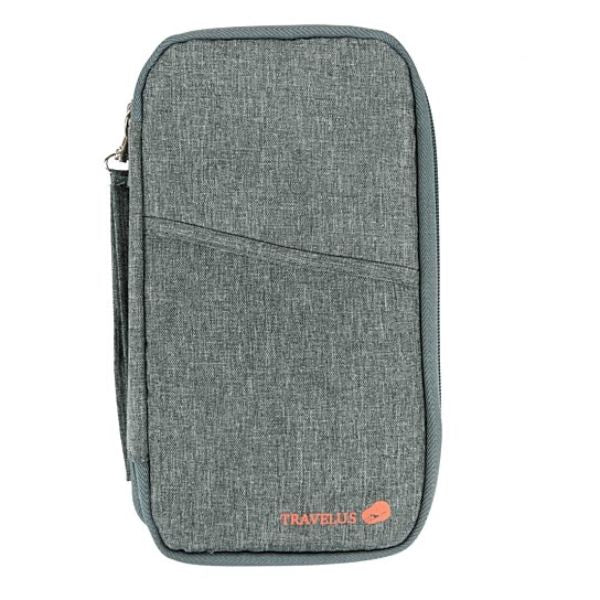 Passport Wallet Unisex Travel Organizer-Grey-Daily Steals