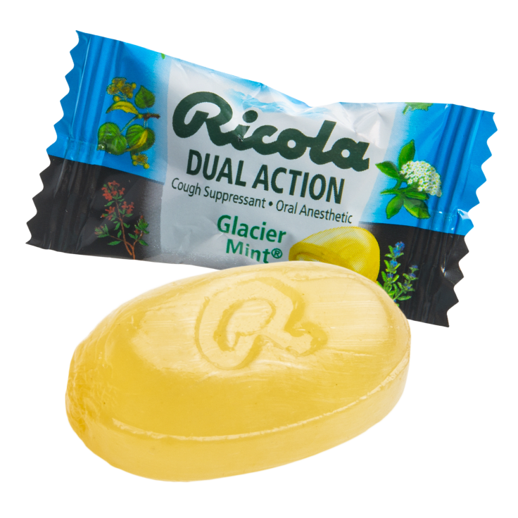 update alt-text with template Daily Steals-Ricola Dual Action Glacier Mint Cough Drops - 95-pack or 456-Pack-Foods-95 Drops-