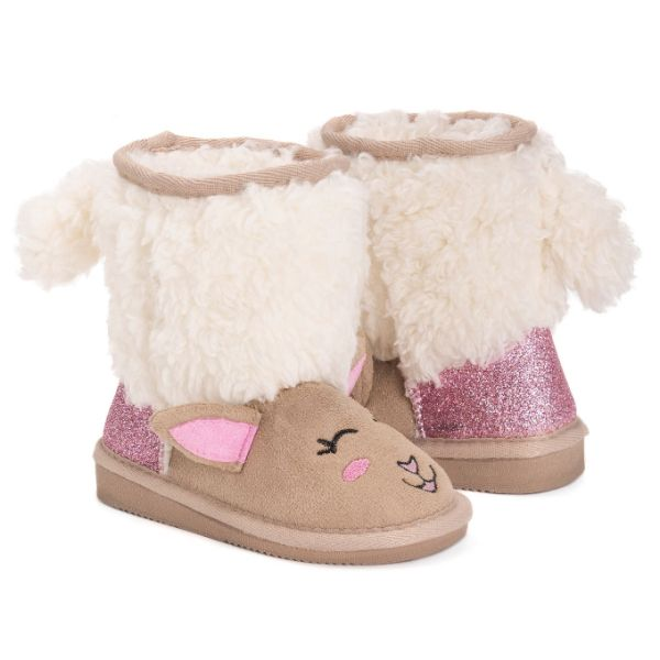 MUK LUKS Kid's Jude Alpaca Boots-8-Daily Steals