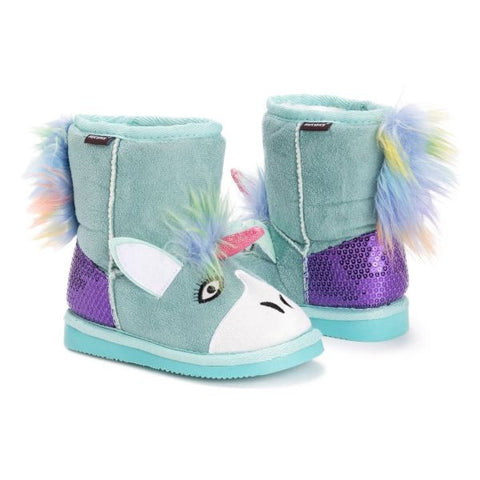 MUK LUKS Kid's Rainy Unicorn Boots