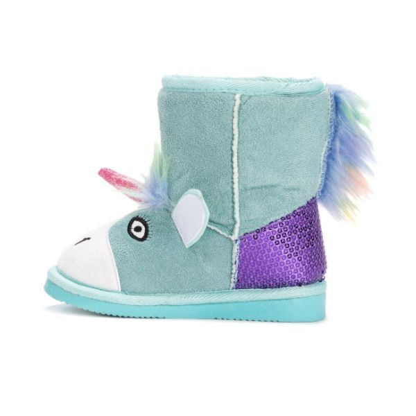 MUK LUKS Kid's Rainy Unicorn Boots-Daily Steals