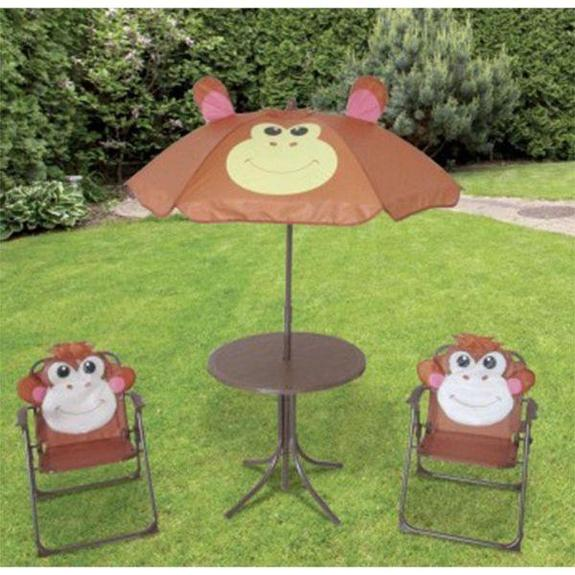 Daily Steals-Kids 4-Piece Outdoor Patio Set-Furniture-