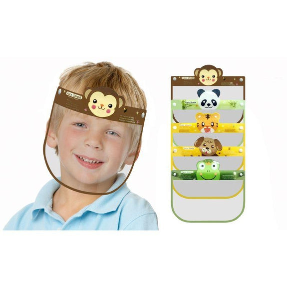 Kids Face Shield Boys and Girls- 5 Pack-Boy-