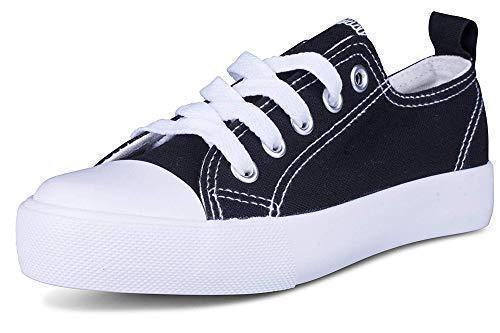 Daily Steals-Kids Slip On Canvas Shoes-Accessories-Black and White-1 Little Kids-